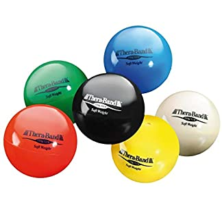 TheraBand-Soft-Weight-45-Diameter-Hand-Held-Ball-Shaped-Isotonic-Weighted-Ball-for-Isometric-Workouts-Strength-Training-Rehab-Exercises-Shoulder-Strengthening-Set-of-6-Assorted-Weights