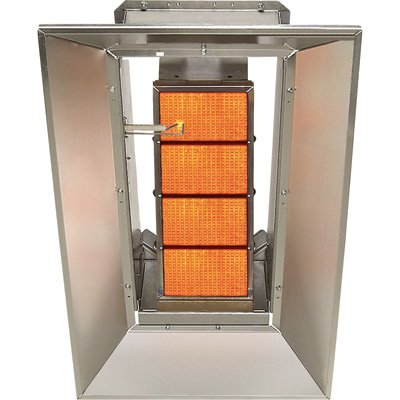 SunStar Heating Products Infrared Ceramic Heater - NG, 30,000 BTU, Model Number SG3-N by Sunstar
