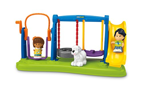 Fisher Price Little People Jump Swing