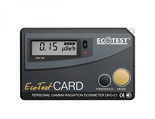 dda01cd0cb3 Ecotest Card (personal Gamma Radiation Dosimeter Dkg-21) Made By Ecotest