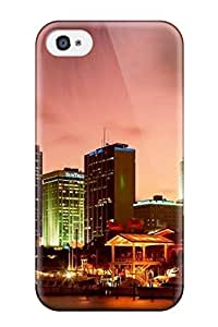 City Skyline Case Compatible With Iphone 4/4s/ Hot Protection Case