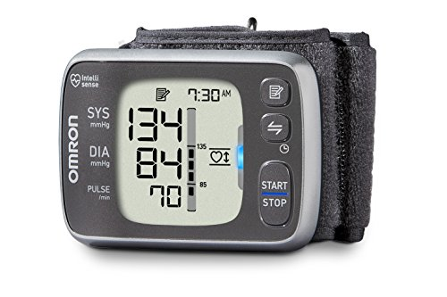 Omron 7 Series Wireless Wrist Blood Pressure Monitor; 100-Reading Memory with Heart Zone Guidance - Bluetooth® Works with Amazon Alexa by Omron