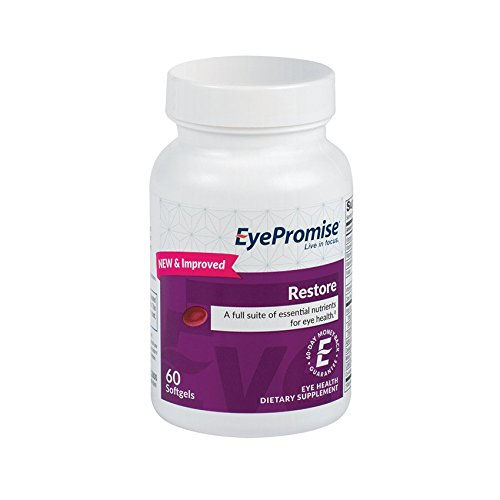 Eyepromise Restore Supplement   Complete Macular Health Formula With Zeaxanthin   Lutein For Ocular Nutrition
