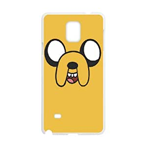 Diy Phone Cover Adventure Time for Samsung Galaxy Note 4 N9100 WEQ969594