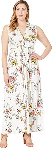 (Rachel Pally Women's Plus Size Long Sleeveless Caftan Wildflower 1X)