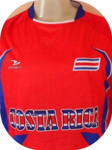 Amazon.com : COSTA RICA SOCCER JERSEY SIZE LARGE