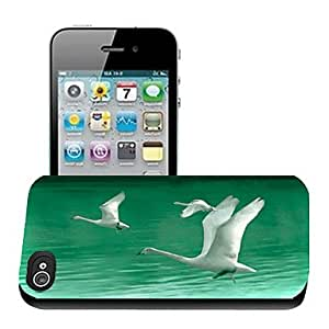 Swan Pattern 3D Effect Case for iPhone5