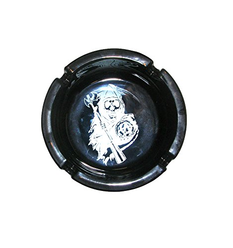 Sons Of Anarchy Reaper Glass Ashtray
