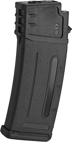 Evike - Matrix 300rd Flash Mag Slim Hi-Cap Magazine for G36 Series Airsoft AEG Rifles (Color: - Magazine G36