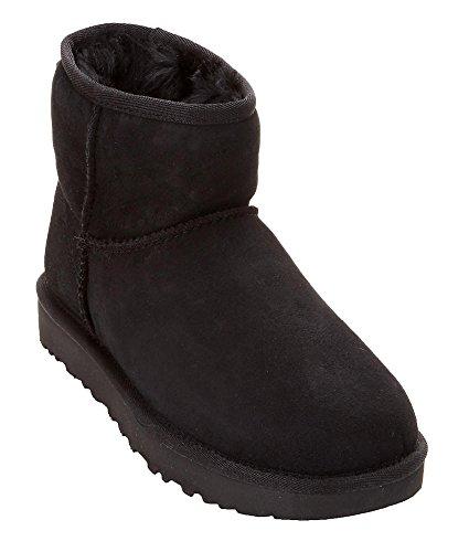 UGG Women's Classic ll Mini Boot in Black (Boots On Sale Rain Ugg)