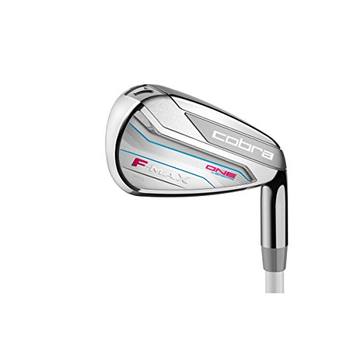 Cobra Women's 2018 F-Max One Length Iron Set, Black/Rasberry, Right Hand