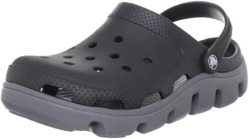 Crocs Unisex Duet Sport Tette Svart / Kull