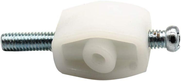 Kecheer Juego de tornillos de ajuste de faros delanteros Reemplazo de clips de ajuste de faros para VW TRANSPORTER T4