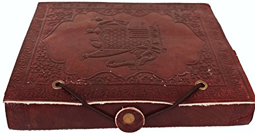 LS Genuine Leather & Handmade Paper Diary Notebook Journal For Personal Use or Gift Size 5x6