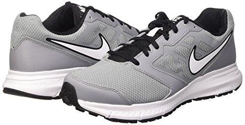 6 noir Blanc Homme De Blanc Nike Noir noir Gris Course Chaussures Downshifter stealth Pour gOq5wa