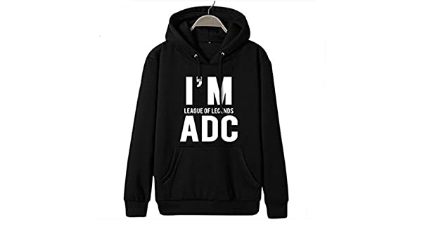 Fashion LOL sudadera le Cool macho de letra desde el sudor-shirts League Of Legends: Amazon.es: Ropa y accesorios