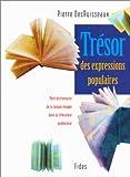 Image de Tresor des expressions populaires: Petit dictionnaire de la langue imagee dans la litterature quebec