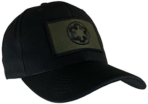 HAWKINS MILITARY MERCHANTS Star Wars Imperial Hat Black Ball Cap OD Green ()