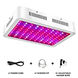 1000W LED Grow Light – Full Spectrum LED Grow Lamp with Adjustable Rope, UV and IR for Indoor Plants Veg and Flower by Lonwon – (10W LEDs 100Pcs) Review
