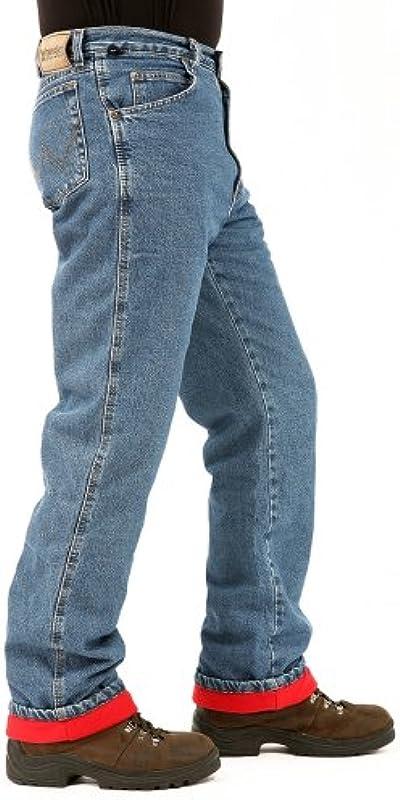 Wrangler męskie jeansy termiczne, duże i wysokie, Woodland: Odzież