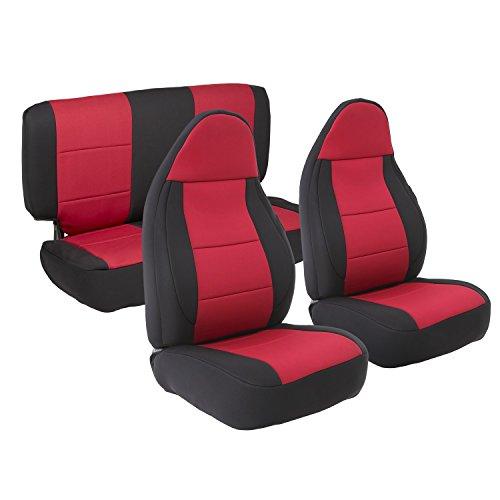 Smittybilt S/B10492 Neoprene Seat Cover FITS - 1997 1998 1999 2000 2001 2002 - Jeep, TJ, Wrangler (Seats Xj Jeep)
