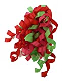 The Gift Wrap Company 12-Count Satin Mix Curly Ribbon Bows, Funky