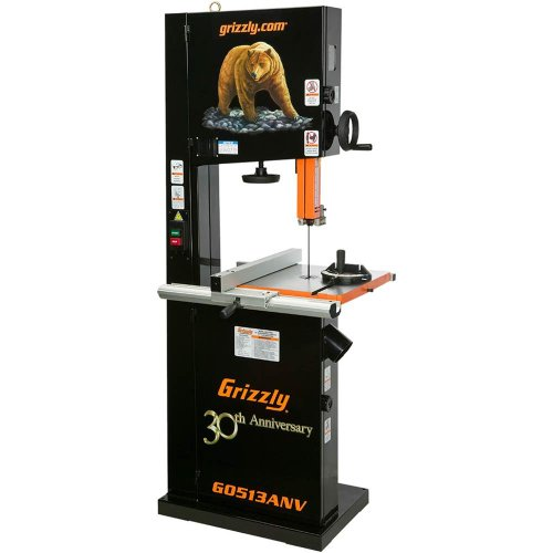 Grizzly G0513ANV 2 HP Bandsaw Anniversary Edition, 17-Inch by Grizzly
