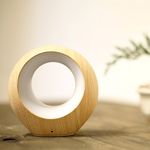 AirSense Smart Air Quality Monitor & Ion Purifier, Two-way Speakers, Millions of Light Colors, VOC, Temp & Humidity Detector