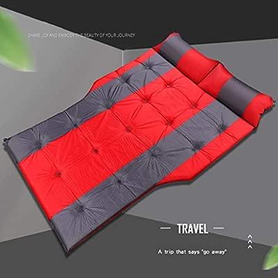 NEVY-Trampolín Doble colchón Inflable automático Tronco de ...