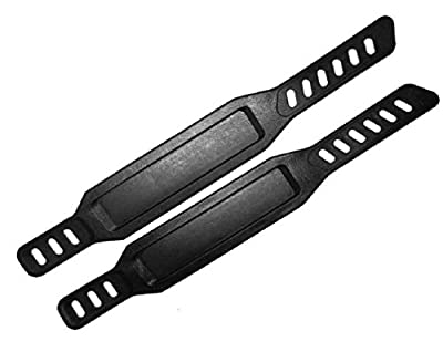 1 Pair Universal Excersise Bike Bicycle Cycle Pedal Strap Home Gym Life Cycle