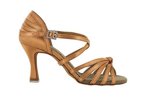 scarpa da ballo con nodino , colore flesh tacco 7,5 cm