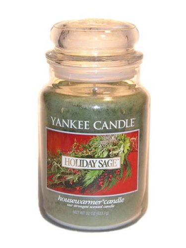 Holiday Sage - Yankee Candle 22 Oz (Holiday Sage)