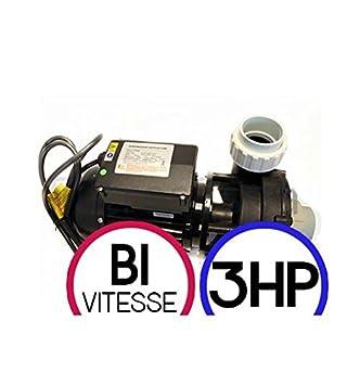 LX Whirlpool WP300 3HP Bi Geschwindigkeit – Pumpe-Massage Spa ...