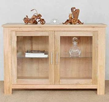 SOLID FURNITURE YOUR NEXT Sideboard W/ Glass Doors NEW: Amazon.co.uk:  Kitchen U0026 Home