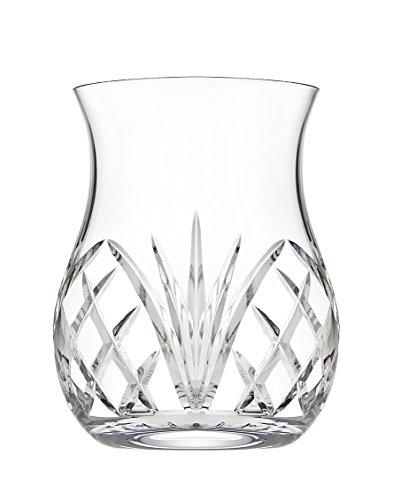 Godinger Silver Art Dublin Reserve Non-leaded Crystal Barware Double Old Fashioned Whiskey Glasses, Set of 2 by Godinger