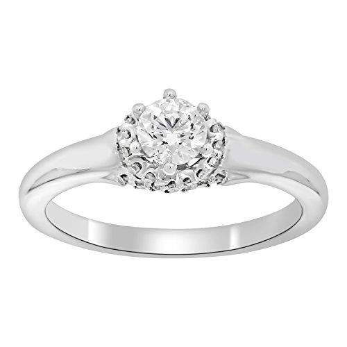 0.45 Ct Tw Round Diamonds - 9