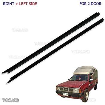 Door Rubber Weatherstrip Seal Left Hand for 1986-1997 Nissan D21 Pathfinder