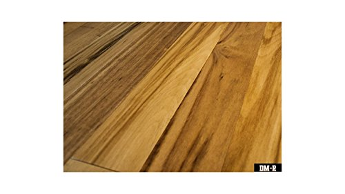 Tiger Wood - Natural - Engineered Hardwood - Lifetime Structural 50 Year Finish - Glue Down, Nail - CARB & Lacey Act Compliant - 1/2x5x84 - Hardwood Wood Flooring Tiger