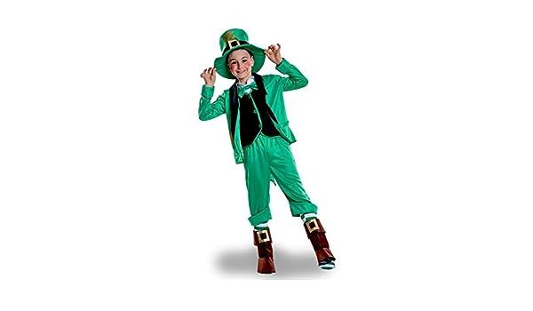 Disfraz de Duende de San Patricio para niño: Amazon.es: Juguetes y ...