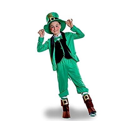 Disfraz de Duende de San Patricio para niño: Amazon.es ...