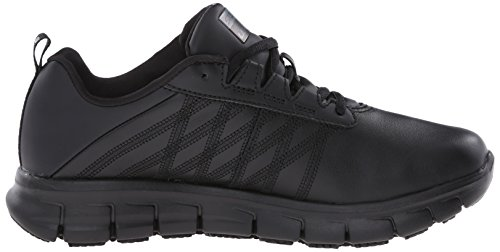 Skechers for Work Women's Sure Track Erath Athletic Lace Slip Resistant Boot Black cheap sale pictures z5KQUp2bO7