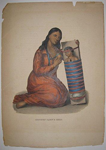 Chippeway Squaw & Child.