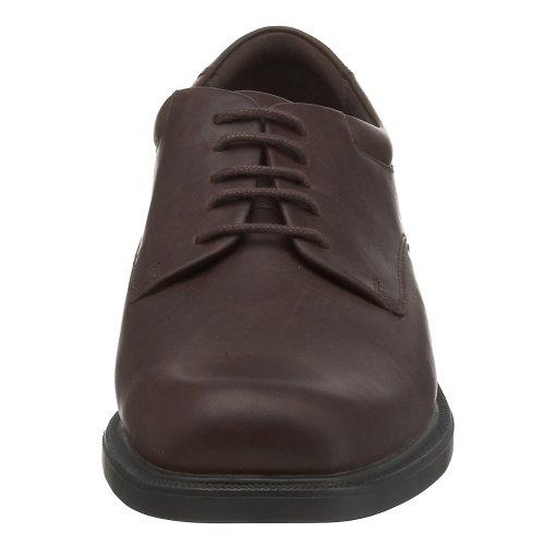 Rockport Mens Margin Oxford Black Leather 4k5l9iDu