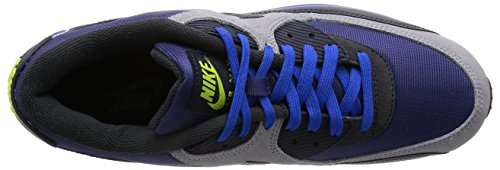 Nike Air Max 90 Winter PRM - Zapatillas de running Hombre, Azul Recall/Negro Obsidiana/Plateado, 6 UK / 40 EU / 7 US