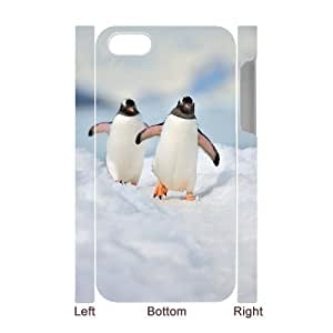 3D Gentoo penguins For Samsung Galaxy S5 Mini Case Cover For Men, For Samsung Galaxy S5 Mini Case Cover Blue [White]