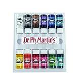 Dr. Ph. Martin's Bombay India Ink, 0.5 oz, Set of 12 (Set 1)