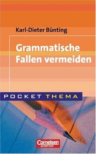 Pocket Thema: Grammatische Fallen vermeiden