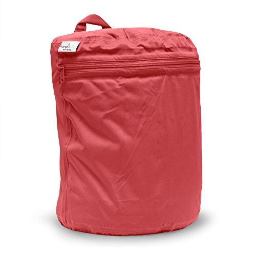 Kanga Care KRWETB_OS-S028 - Bolsas impermeables para pañales sucios, niños, 6-9 meses, color gris Rojo (Spice)