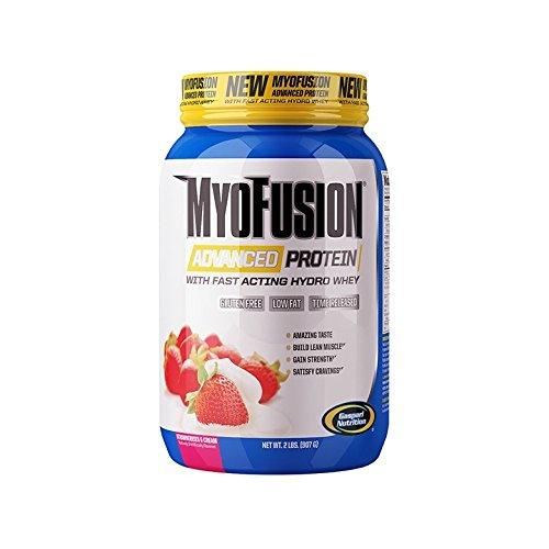 Gaspari Nutrition Myofusion Advanced Protein, Strawberries and Cream, 2 - Chocolate Myofusion