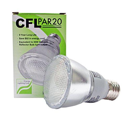 11W CFL PAR20 Fluorescent 4100K Cool White (50W Equivalent)